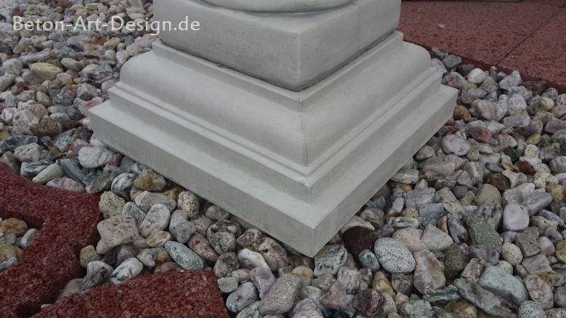 Sockel Kok 14 Cm :  for Gartenfiguren, Gartenbrunnen, Sockel, Skulpturen und Steinfiguren