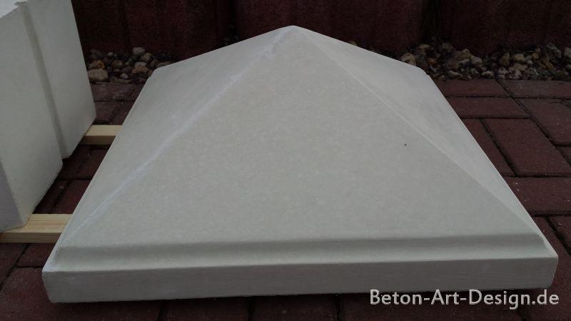 pyramide abdeckplatte f r tor und zaunspfeiler bad 7661 frostsicher 55 x 55 cm ebay. Black Bedroom Furniture Sets. Home Design Ideas